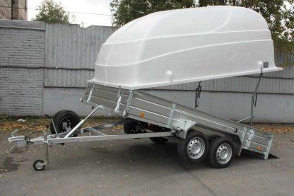81023 3 416x277 - Flatbed / Boat / General Duty Trailer 800 kg - Model LAV 81013A