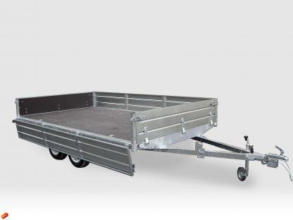 81026 1 416x312 - Flatbed / General Duty Trailer 800 kg - Model LAV 81013D